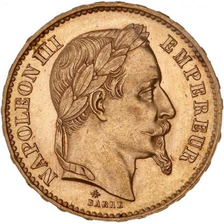 20 francs Napoléon III - 1869 A