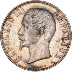 5 francs Napoléon III tête nue 1855 A