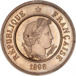 50 centimes Semeuse 1898 - MS