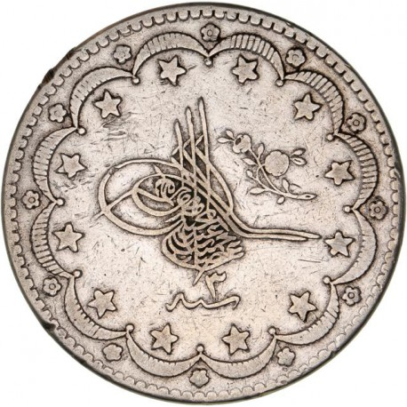 Turquie - 20 Kurush 1293 (3) / 1876
