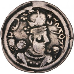 Sassanides - Drachme de Barame IV