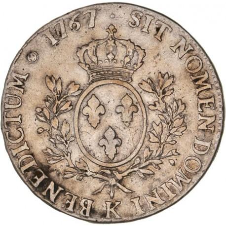 Louis XV - Ecu au bandeau 1767 K Bordeaux