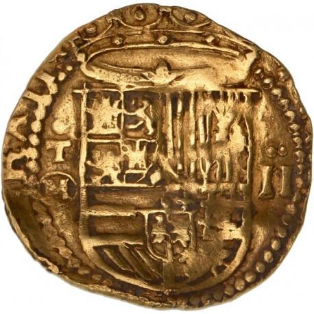 Espagne - Double escudos de Philippe II - Tolède
