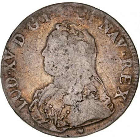 Louis XV - Ecu 1730 BB Stasbourg
