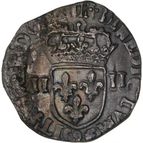 Henri IV - Quart d'écu - Rennes (date illisible)
