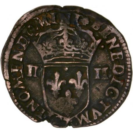 Henri IV - Quart d'écu 1602 T Nantes