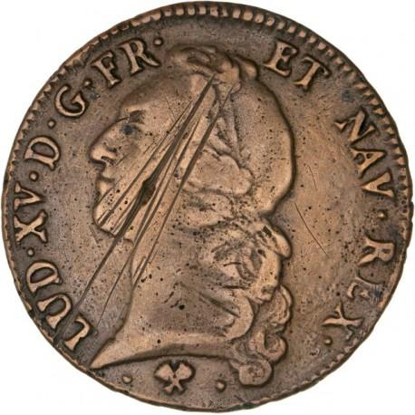 Louis XV - Ecu 1770 L Bayonne - faux d'époque