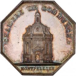 Jeton argent Chambre de Commerce de Montpellier