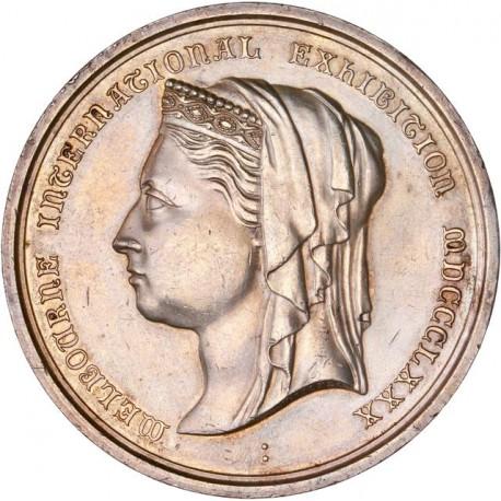Australie - Médaille argent exposition internationale de Melbourne 1880