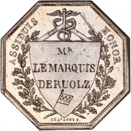 Jeton argent du Conseil Municipal de la ville de Lyon 1823