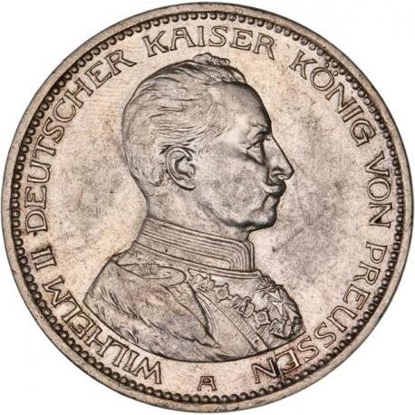 Allemagne - Prusse - 5 mark 1914