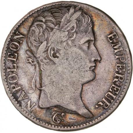 5 francs Napoléon Ier 1813 B Rouen
