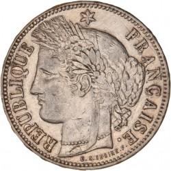 5 francs Cérès 1870 K