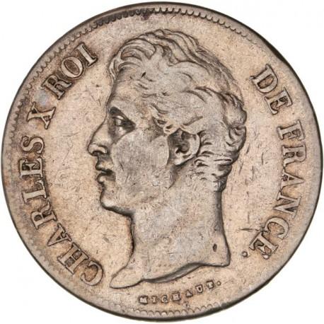 5 francs Charles X 1827 A