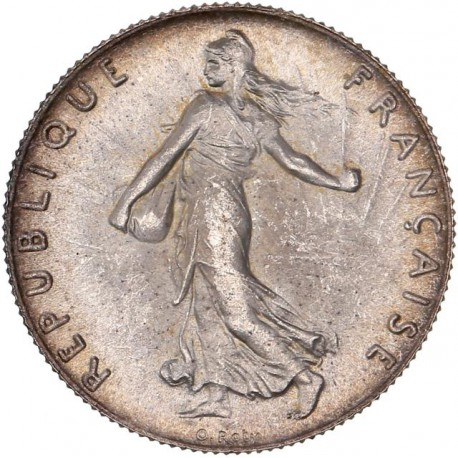 50 centimes Semeuse 1898 - MS65