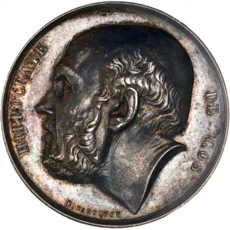 Médaille argent Hippocrate - Assistance publique de Paris