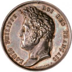 Médaille L-Philippe Ier - Ministère de la Marine, sauvetage et dévouement