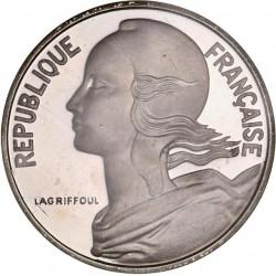 Piéfort argent 10 centimes 1979