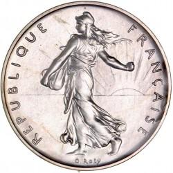 Piéfort argent 1 franc 1979