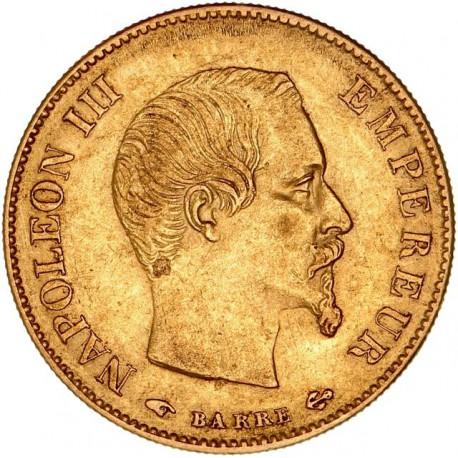 10 francs Napoléon III 1859 A