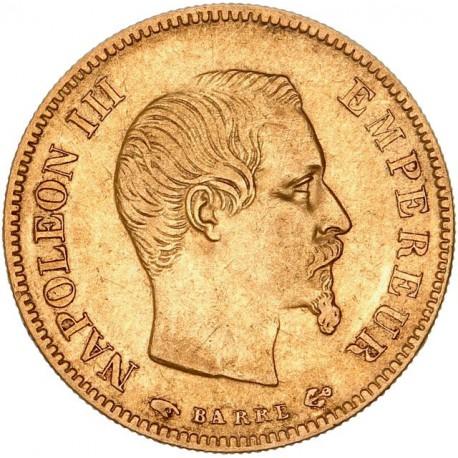 10 francs Napoléon III 1855 A