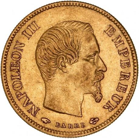 10 francs Napoléon III 1857 A