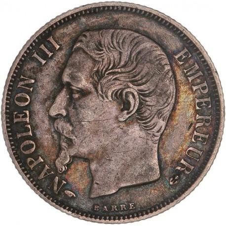 1 franc Napoléon III 1858  A