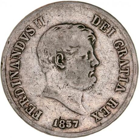 Italie - Royaume des deux Siciles - 120 grana 1857 Naples