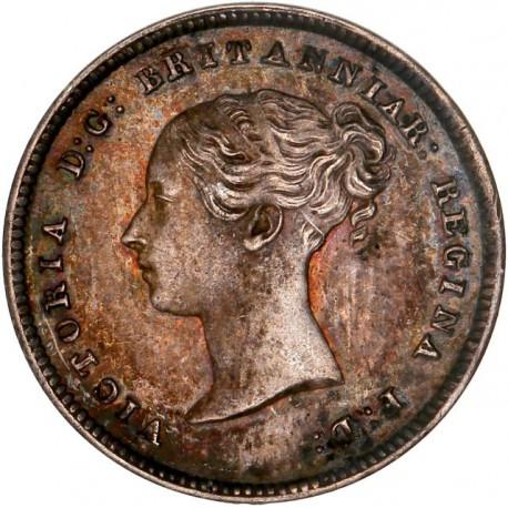 """Grande Bretagne - 4 pence Victoria 1844 """"Maundy Coinage"""""""