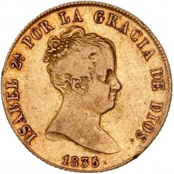 Espagne - 80 reales Isabelle II 1835