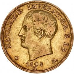 Italie - 20 lires Napoléon Ier 1809 Milan