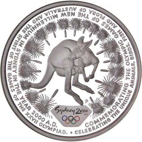 Australie - 5 dollars Sydney 2000 (Once) - Kangourou