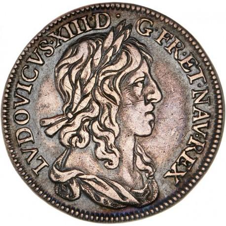 Louis XIII - Quart d'écu premier poinçon 1642 A