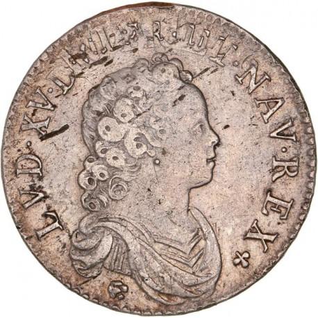 Louis XV - demi écu Vertugadin 1716 A