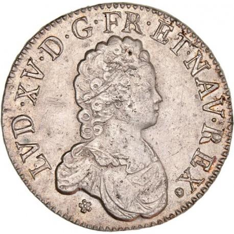 Louis XV - Écu Vertugadin 1716 M