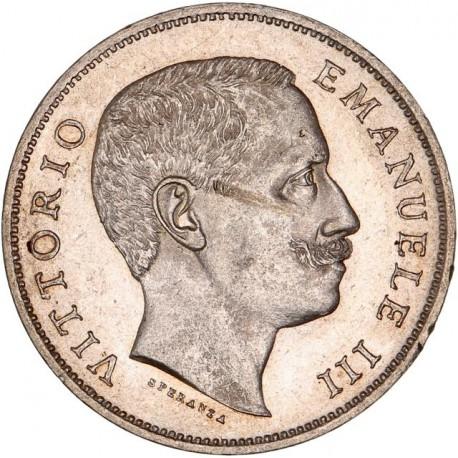 Italie - 1 lire Victor Emmanuel III 1901 R