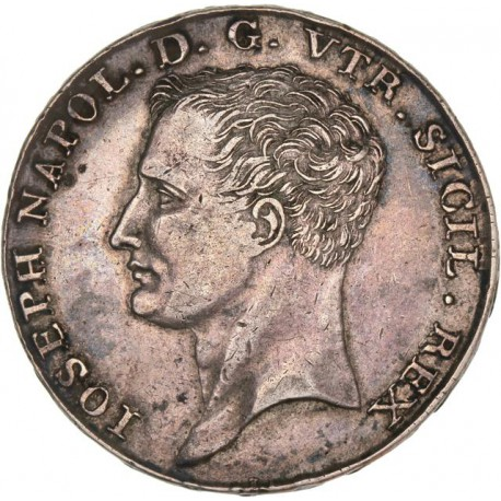 Italie - Royaume de Naples -120 grana 1808