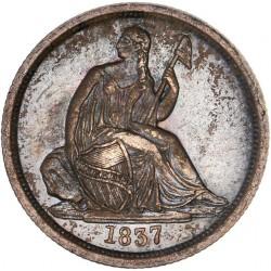 Etats Unis - 1 Dime 1837