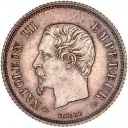 20 centimes Napoléon III 1854 A