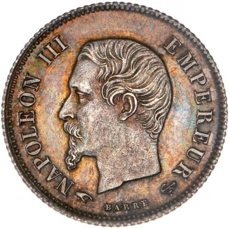 20 centimes Napoléon III 1860 A