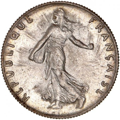50 centimes Semeuse 1915 - MS
