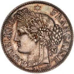 2 francs Cérès 1881 A