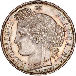 5 francs Cérès 1849 A