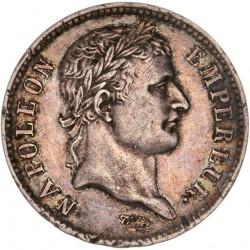 1 franc Napoléon Ier 1808 T Nantes