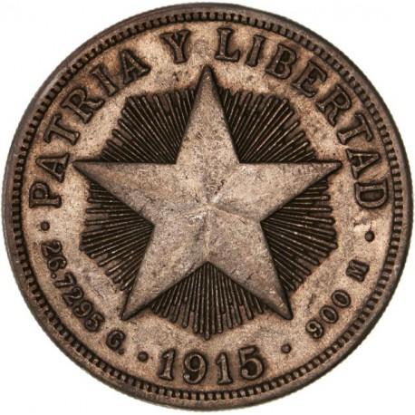 Cuba - 1 peso 1915