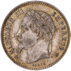 50 centimes Napoléon III 1864 K.