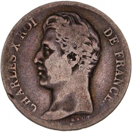 1 franc Charles X 1829 T Nantes