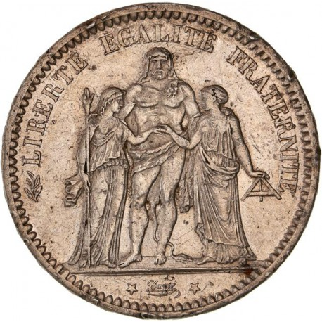 5 francs Hercule - 1872 A Paris
