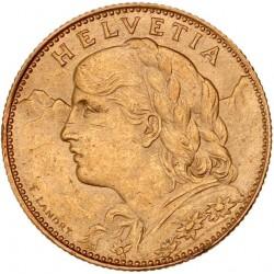 Suisse - 10 francs 1912 B
