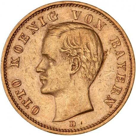 Allemagne - Bavière - 20 mark 1900